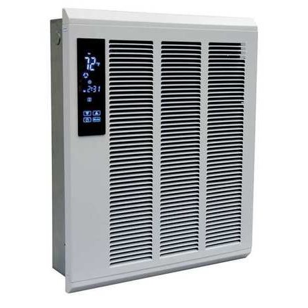 QMARK SSHO4007 277VAC, 1800 to 4000W Electric Wall Heater, White
