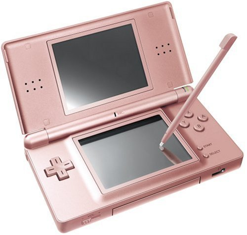 Nintendo DS Lite Rose Gold