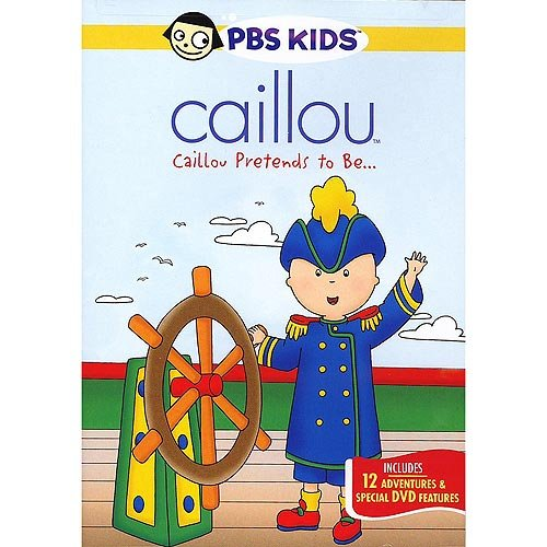 Caillou: Caillou Pretends To Be... (Full Frame)