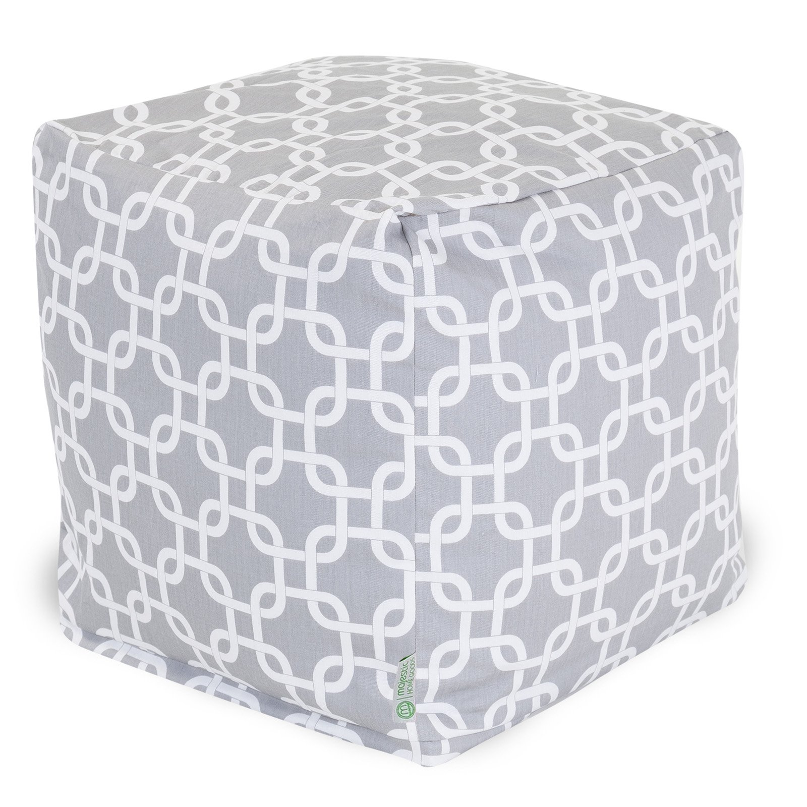 Majestic Home Goods Links Bean Bag Cube, Indoor/Outdoor