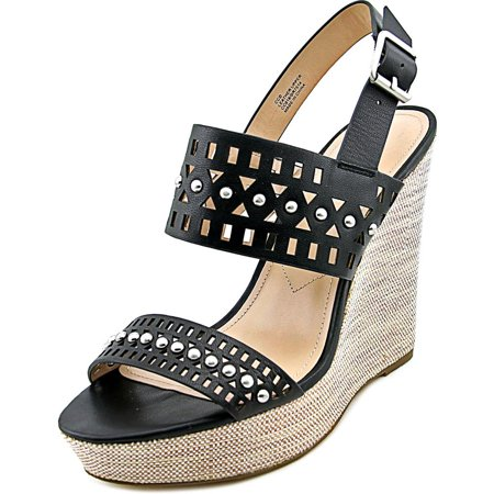 0ee42dba36dd11 Charles by Charles David - Charles By Charles David Aloof Open Toe Leather  Wedge Sandal - Walmart.com