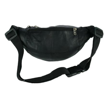 04c553d6f021 CTM Genuine Leather Multi Pocket Waist Pack   Walmart Canada