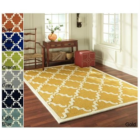 Nuloom 6' x 9' Hand Tufted Divina Rug in Gold