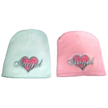 Angel Heart Beanies Knitted Embroidered Winter Caps Winter  Hats - Gifts   (WcaAngel*) ()