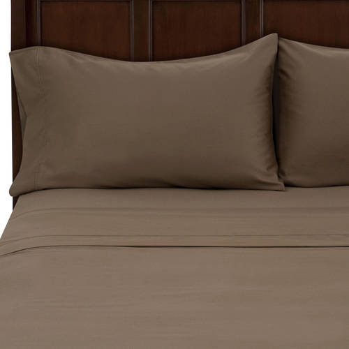 hotel style 500 thread count egyptian cotton bedding sheet set walmartcom - Thread Count Sheets