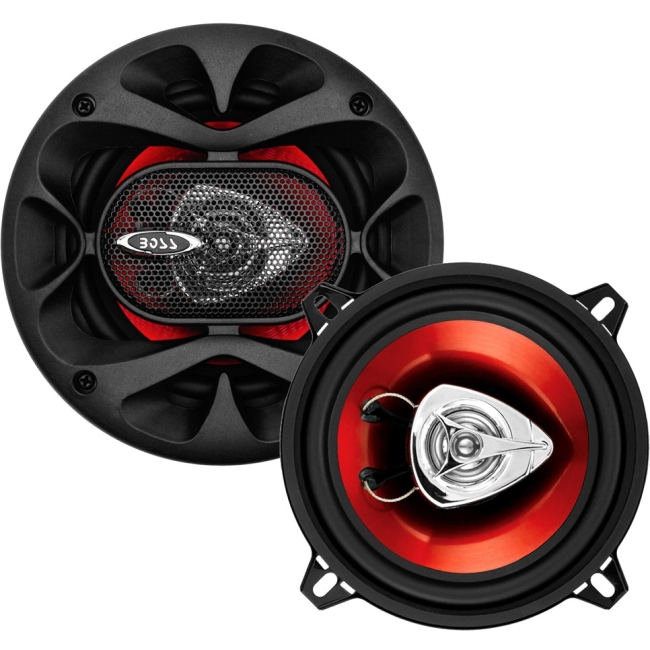 "Boss Audio CH5520 Chaos Exxtreme 5.25"" 2-way 200-watt Full Range Speakers - 100 Hz to 18 kHz - 4 Ohm - 90 dB Sensitivi"