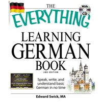 EVERYTHING LEARNING GERMA N BOOK, THE