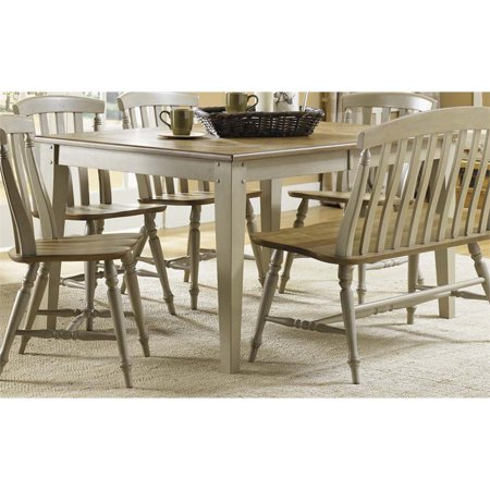 Liberty Furniture Al Fresco Dining Table in Driftwood and (Liberty Furniture Al Fresco 5 Piece Dining Set)