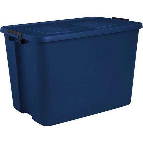 Sterilite 32-Gallon (128-Quart) Latch Storage Box, Set of 4