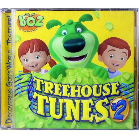 BOZ The Green Bear Next Door Treehouse Tunes Volume 2 Kids