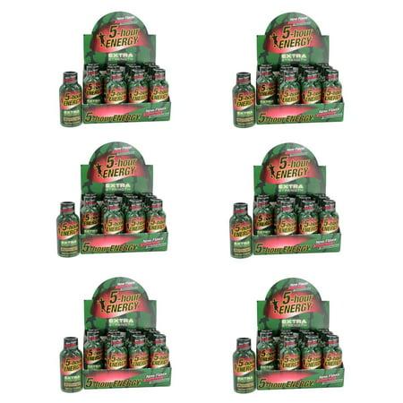 5 HOUR ENERGY Tir supplémentaire Force Fraise / Watermelon- 72 Paquet de 2 bouteilles Ounce
