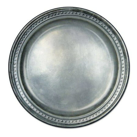 The Beistle Company Medieval Pewter Paper Dessert (Pewter Sports Plates)
