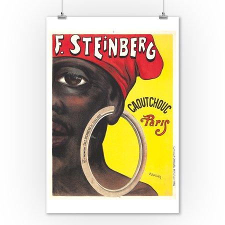 F Steinberg Vintage Poster (artist: Chapellier, Philippe ) France c. 1919 (9x12 Art Print, Wall Decor Travel