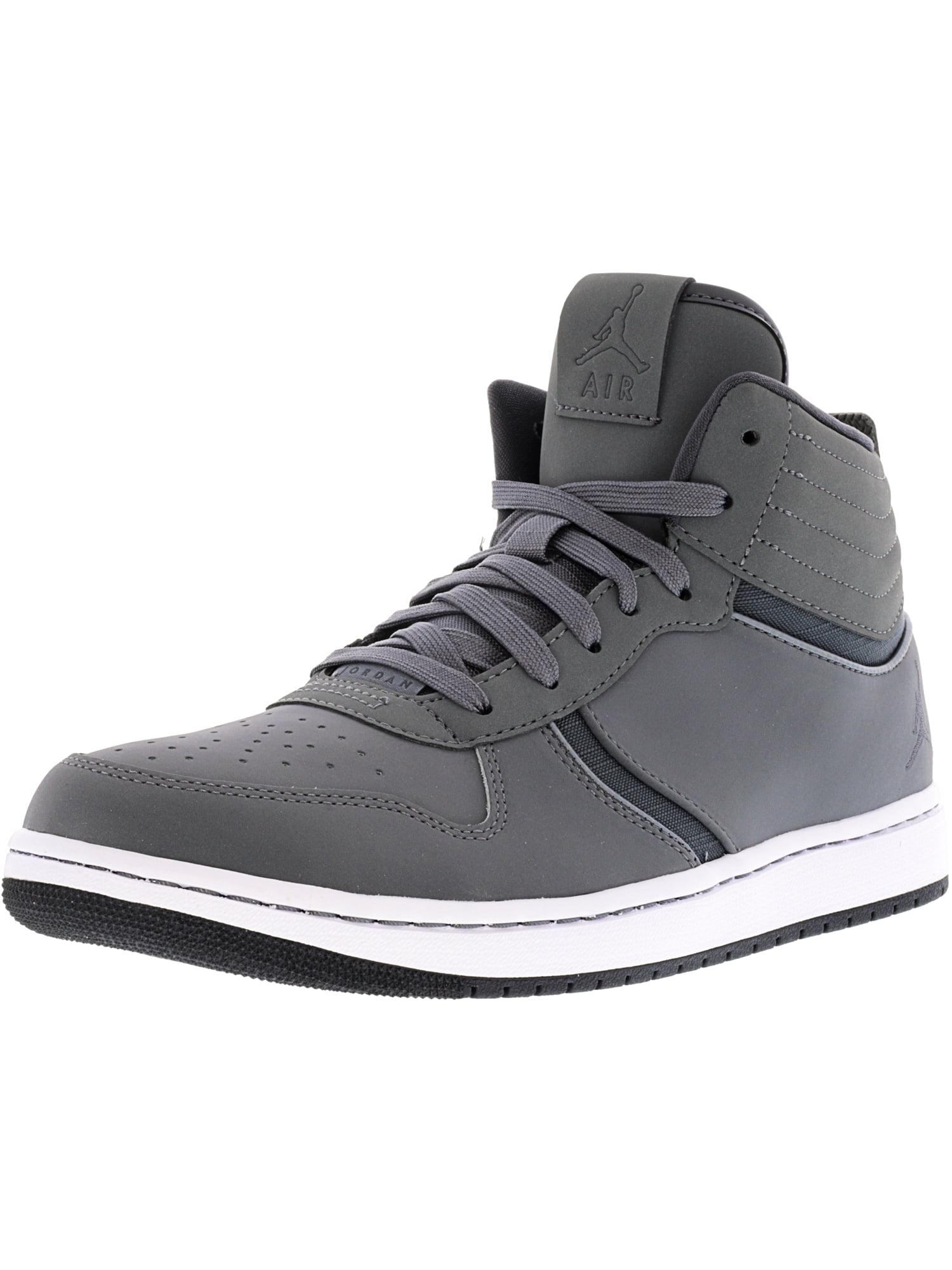 Nike Men's Jordan Air Heritage Cool Grey / Dark Grey-Dark High-Top Fashion Sneaker - 10M