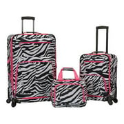 Rockland Luggage 3 Piece Pasadena Softside Expandable Spinner Set F228