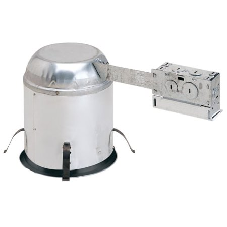 Nora Lighting Nhric 6Lmrat277 Remodel Housing For 6  Trim Size   Ic Rated And Ai