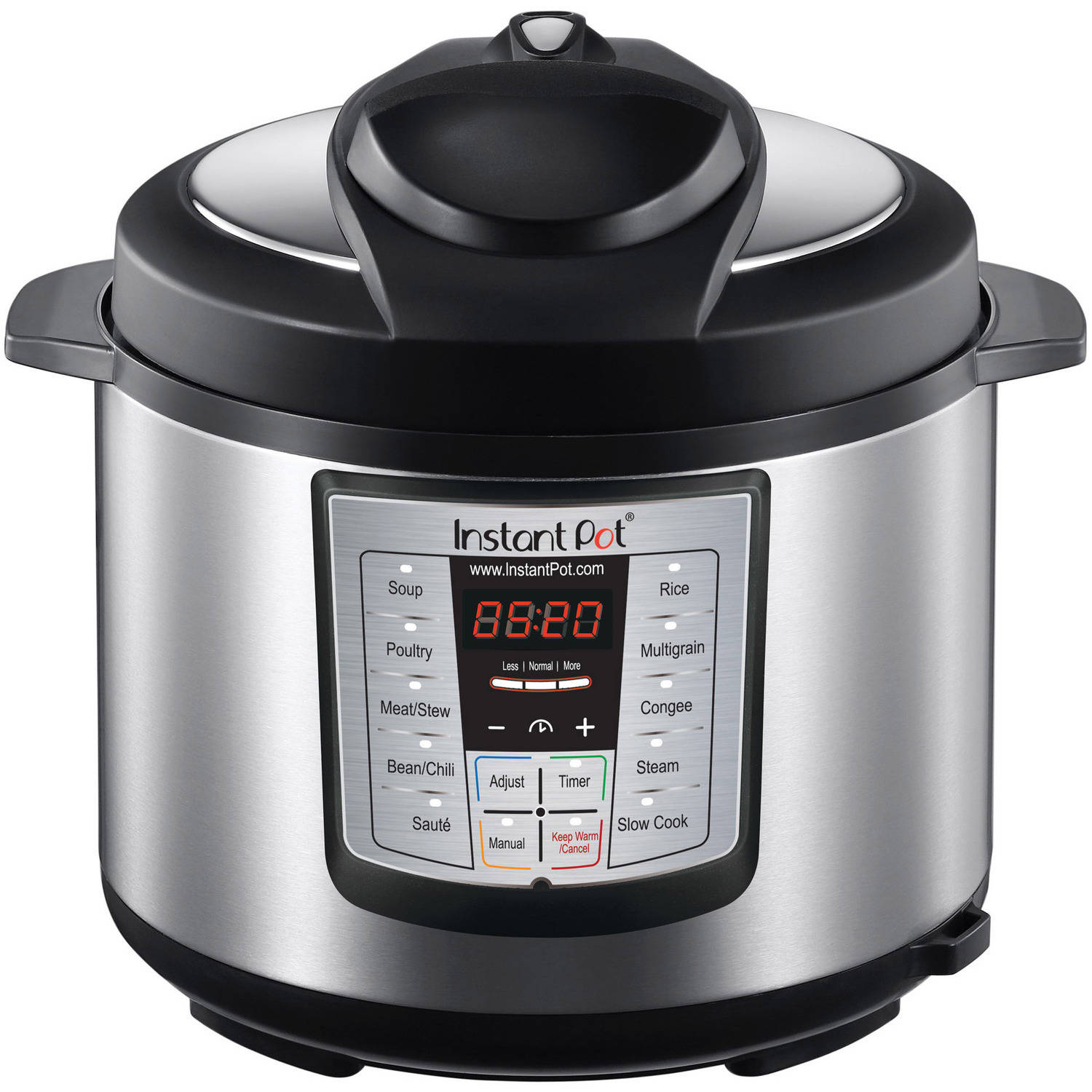 Instant Pot IP-LUX60 Stainless Steel 6-Quart 6-in-1 Multi-Functional Pressure Cooker