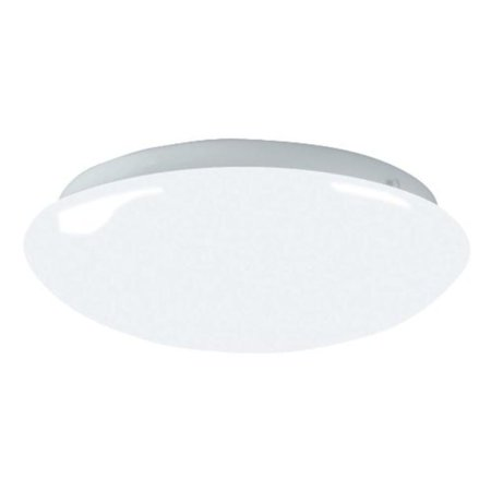 "AFX Lighting 11"" Contemporary Ceiling Light Mushroom Style Cloud White Finish"