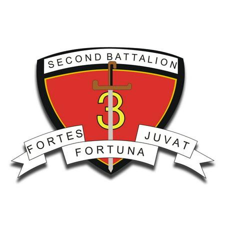 3rd Battalion 7th Marine Regiment - 3.8 Inch 2nd Battalion 3rd Marine Regiment Sticker