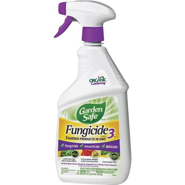 Garden Safe Brand Fungicide 3 Ready-to-Use, 24 oz ...