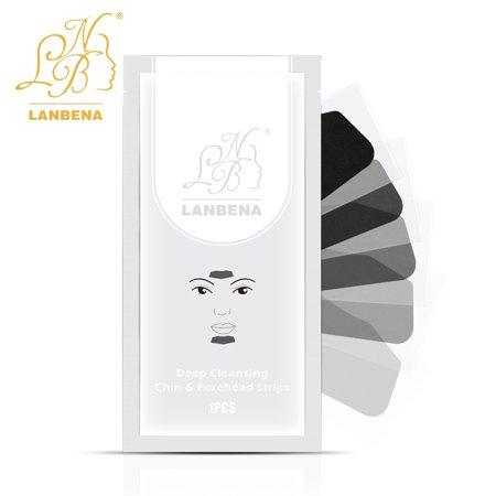 1 PCS LANBENA Deep Cleansing Nose Pore Strip Nose Blackhead Remover Cleaner Strips Cheek Forehead Black Posted Paste Nasal Membrane Tear Pull Blackhead Paste Acne Remove (Best Product To Remove Blackheads On Nose)
