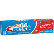 Crest Kid's Cavity Protection Toothpaste for Kids, Sparkle Fun Flavor (Choose Size)