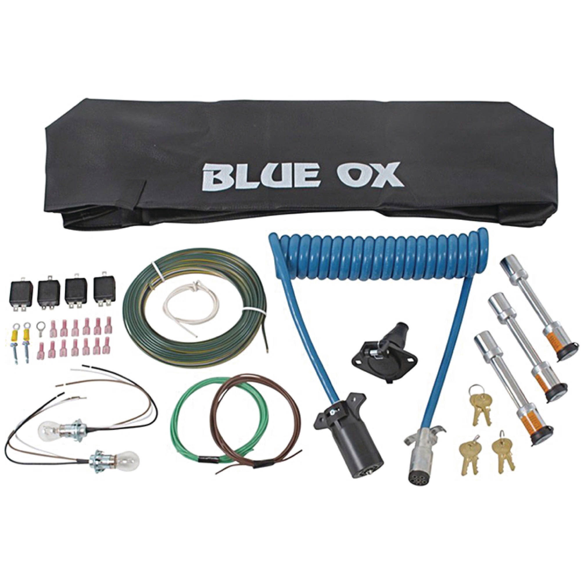 Blue Ox BX88231 Blue Ox Aventa LX RV Towing Accessory Kit 7-6 by Blue Ox