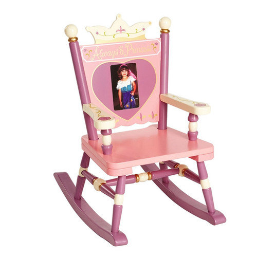 Levels of Discovery Rock A Buddies, Jr. Princess Mini Kid's Rocking Chair