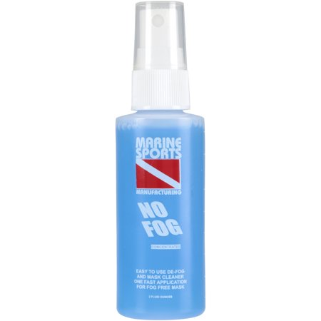 Marine Sports No Fog Spray Concentrate 2 fl oz Spray Bottle Anti Fog Solution Spray