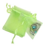 100PCS Organza Drawstring Mini Gift Bags Wedding Favors
