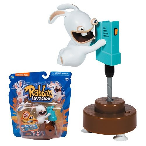 Rabbids Invasion Driller Talking Action Figure (Number of Pieces per Case: 12) by