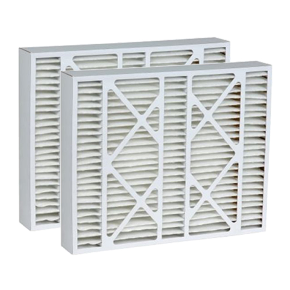 Tier1 Replacement for Honeywell 20x20x5 Merv 11 FC100A1011 & 5202013 AC Furnace Air Filter 2 Pack