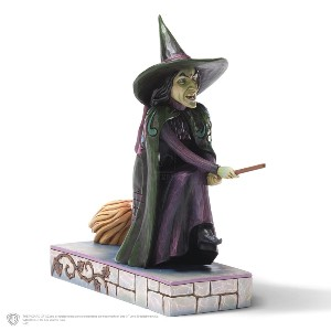 WIZARD OF OZ BY JIM SHORE - THE WICKED WITCH FIGURINE