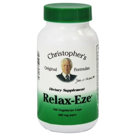 Relax-Eze Dr. Christopher 100 VCaps