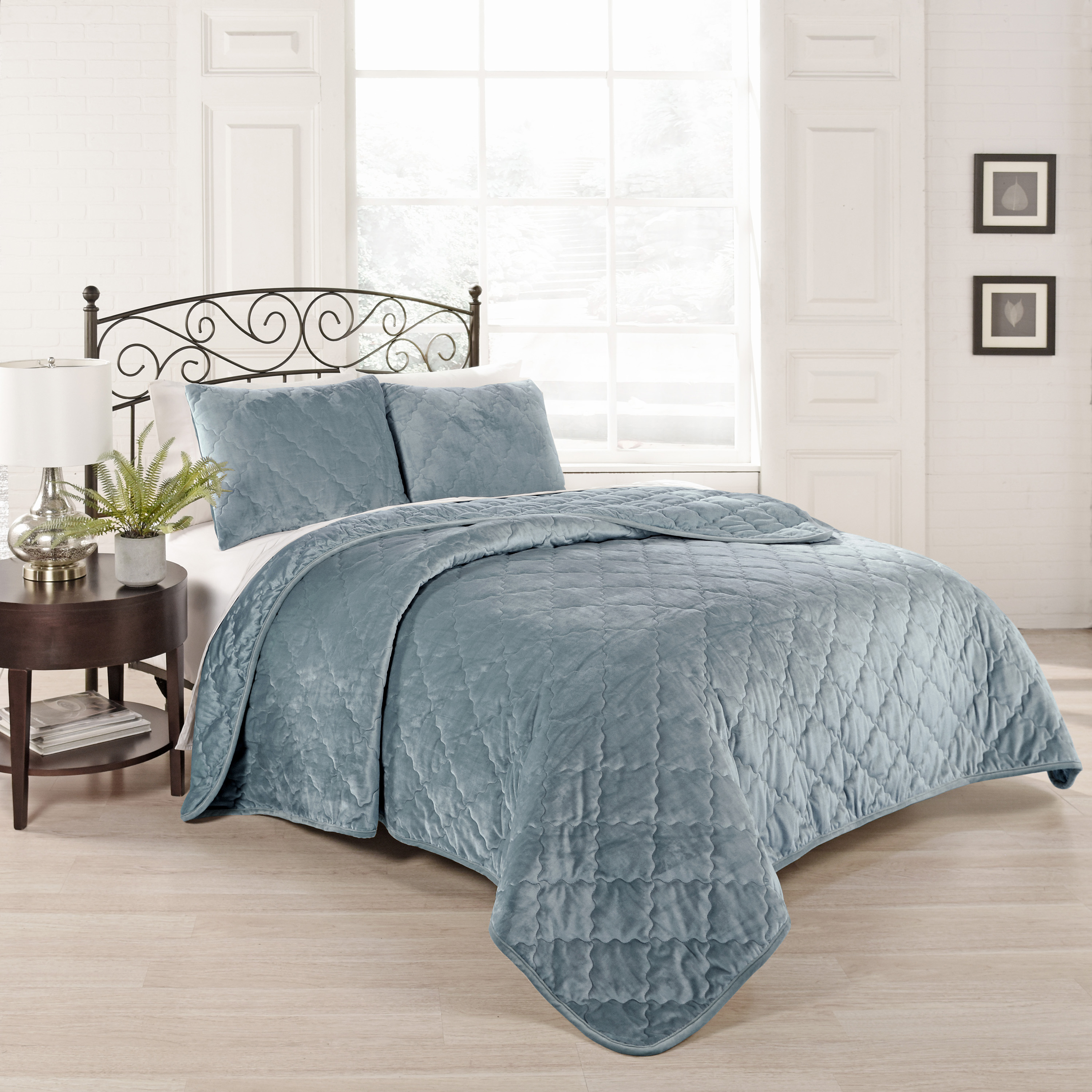 Beautyrest Collette 3 Piece Coverlet Set by Ellery Homestyles