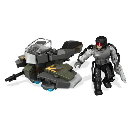 Mega Construx Call of Duty Hoverbike Raid Playset, One buildable location, weapons system, or vehicle, sold separately By Mega Bloks Ship from