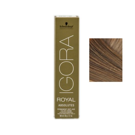Schwarzkopf Professional Igora Royal Absolutes Hair Color -Color : 7-60 Medium Blonde Chocolate Natural ()