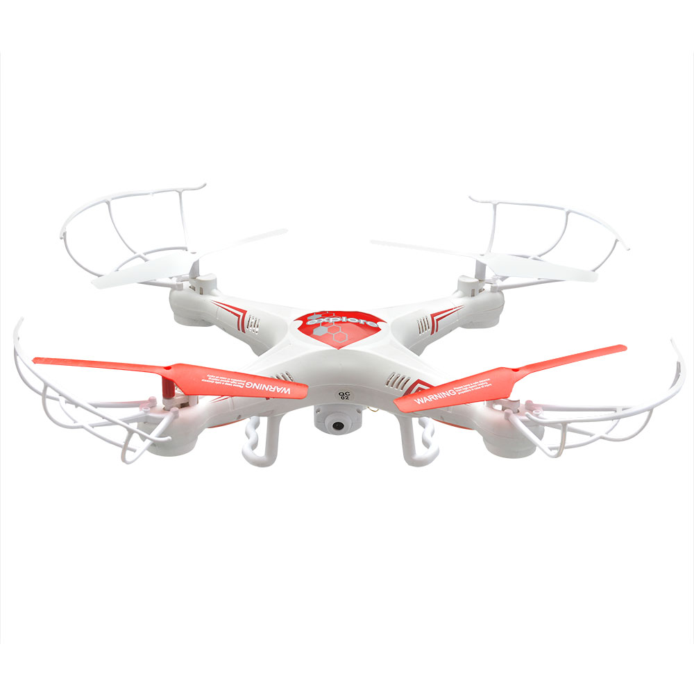 X6-C 2.4G 4CH 6-Axis aerial vehicles Gyro RC Quad-copter with 2MP HD Camera and 4GB Micro SD card