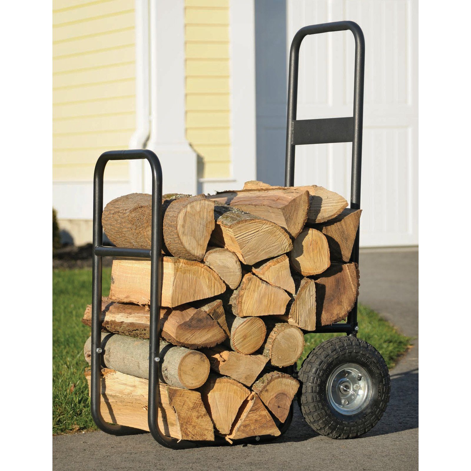 Haul-It Wood Mover Rolling Firewood Cart by ShelterLogic