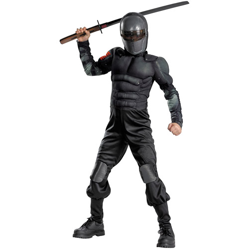 G.I. Joe Snake Eyes Classic Muscle Child Halloween Costume