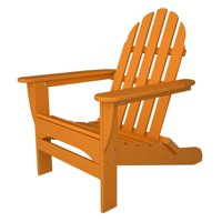 POLYWOOD Classic Recycled Plastic Foldable Adirondack Chair