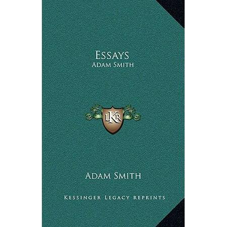 Adam smith essay