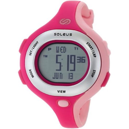 Women's SR009672 Chicked Stainless Steel Running Watch with Pink