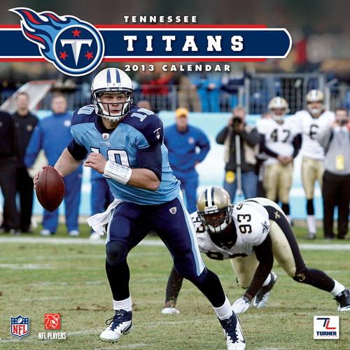 "Turner Licensing 2013 12"" x 12"" Team Wall Calendar, Tennessee Titans"