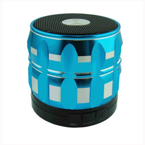 Shrox BTS-SFBE Mini Portable Shrox Bluetooth Speaker, Powerful, Loud and Clear Sounds with Bass (Blue)