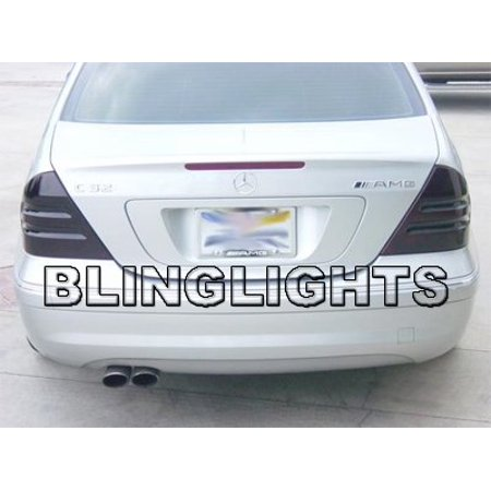 30 Light Tint - 2001 2002 2003 2004 Mercedes C30 AMG Smoked Taillamps Taillights Tail Lamps Tint Film Overlays C 30