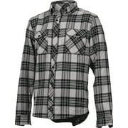 One Industries Tech Casual Flannel Shirt: Black/Gray XL