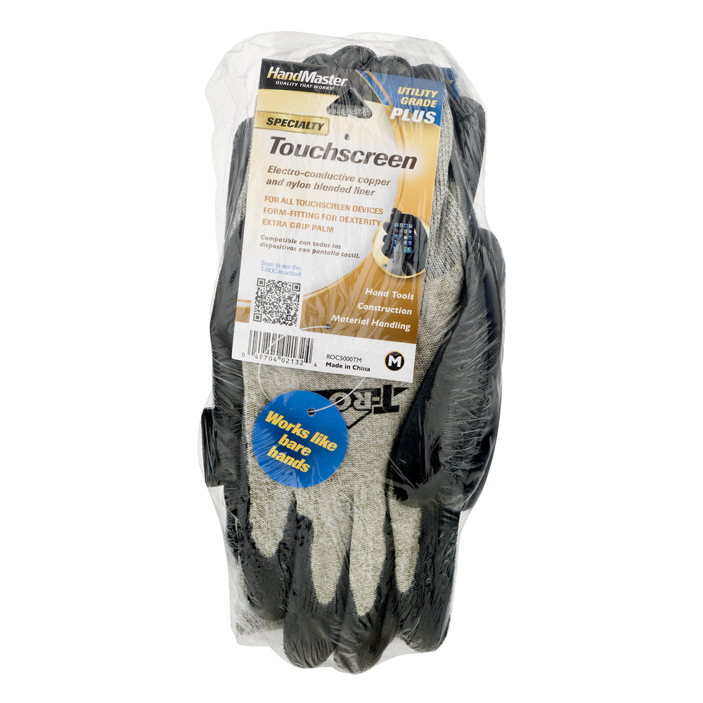 HandMaster Specialty Touchscreen Gloves - 3CT