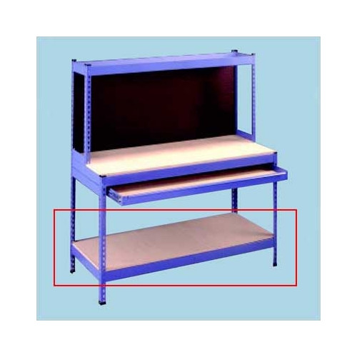 Tennsco Corp. Extra Shelves for Rivet Style Workbench