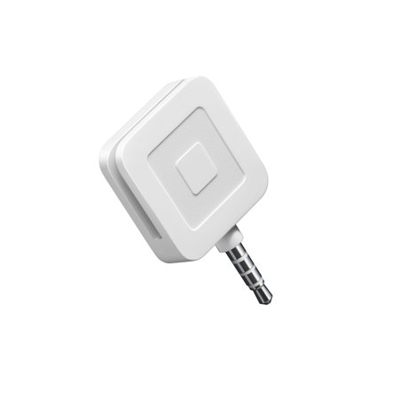 Square Credit Card Magstripe Reader (with headset jack)
